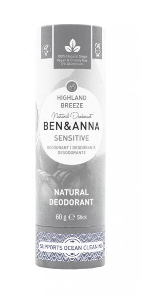 BEN & ANNA Sensitive Papertube Deo Highland Breeze