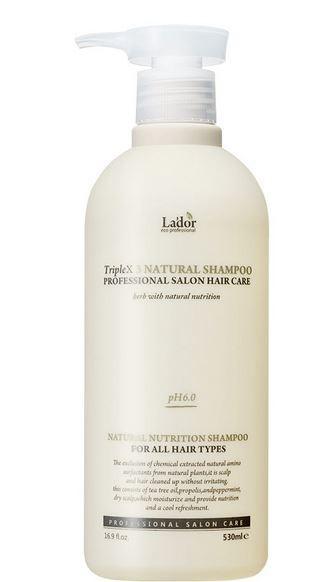 LADOR Triplex3 Natural Shampoo 530ml