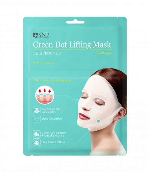 SNP Green Dot Lifting Mask