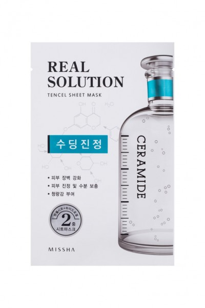 MISSHA Real Solution Tencel Sheet Mask (Soothing) CERAMIDE
