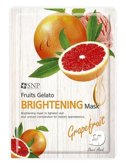 SNP Fruits Gelato Brightening Mask