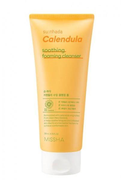 MISSHA Sunhada Calendula Soothing Foaming Cleanser