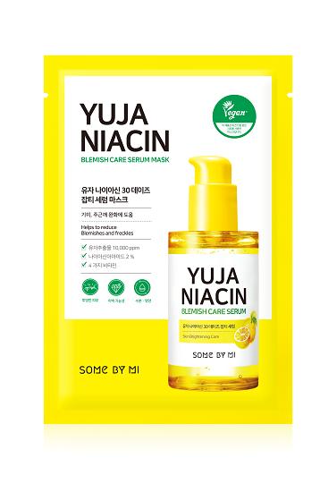 SOMEBYMI Yuya Niacin Blemish Serum Mask