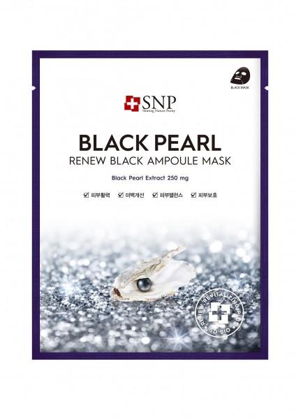 SNP Black Pearl Black Ampoule Mask