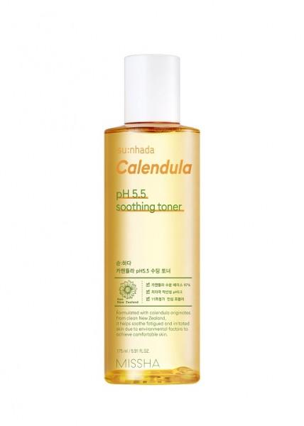 MISSHA Sunhada Calendula pH Balancing Soothing Toner