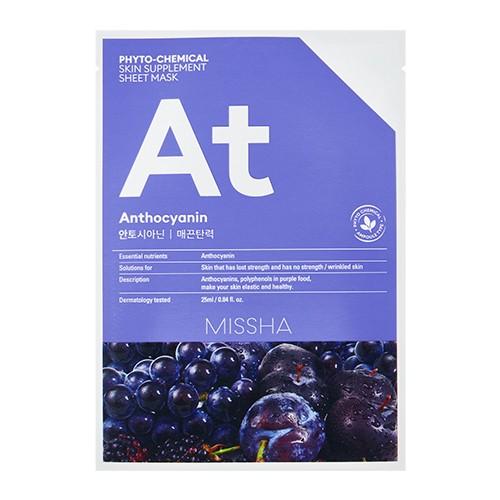 MISSHA Phytochemical Skin Supplement Sheet Mask (Anthocyanin/Lifting)