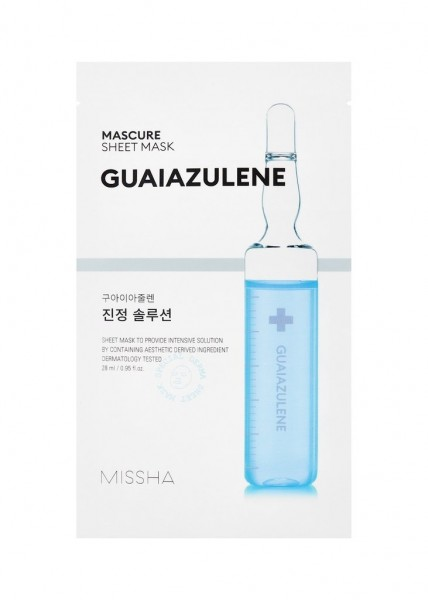MISSHA Mascure Calming Solution Sheet Mask