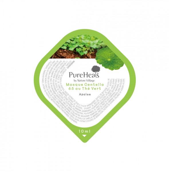 PUREHEALS Centella 65 Green Tea Pack Capsule