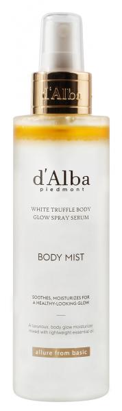 DALBA White Truffle Body Glow Spray Serum 180ml