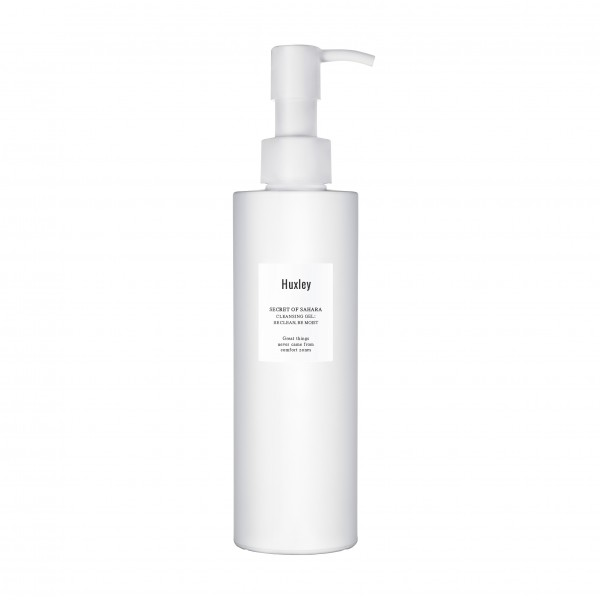 HUXLEY Cleansing Gel : be clean, be moist