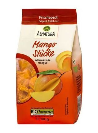 Alnatura Bio Mangostücke 100 g