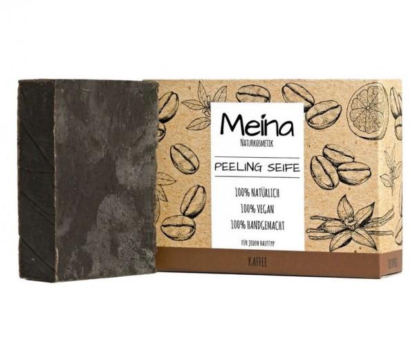 MEINA Peeling Seife mit Kaffee