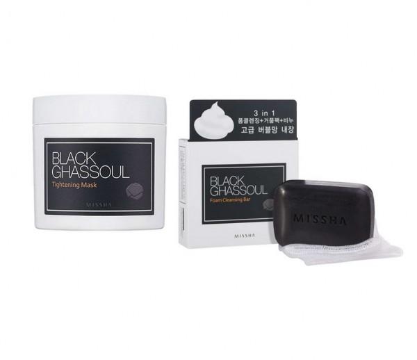 MISSHA Black Ghassoul Kit