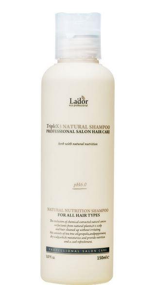 LADOR Triplex3 Natural Shampoo 150ml