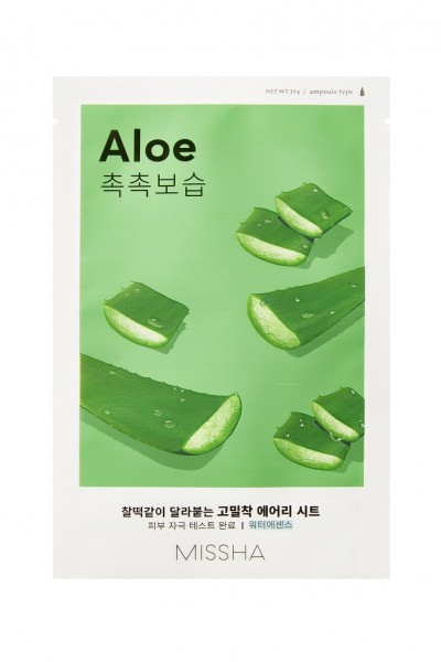 MISSHA Airy Fit Sheet Mask - Aloe [GWP]