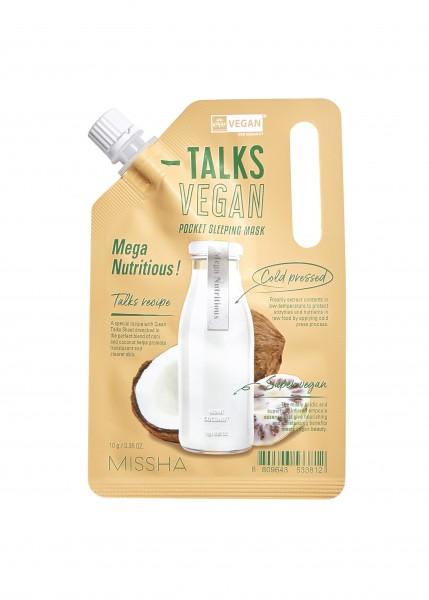 MISSHA Talks Vegan Squeeze Pocket Sleeping Mask [Mega Nutritious]
