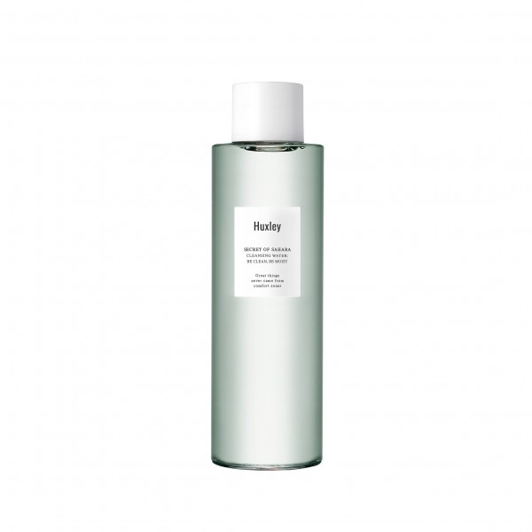 HUXLEY Cleansing Water : be clean, be moist