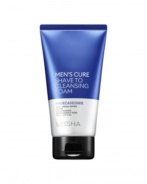 MISSHA Mens Cure Shave To Cleansing Foam