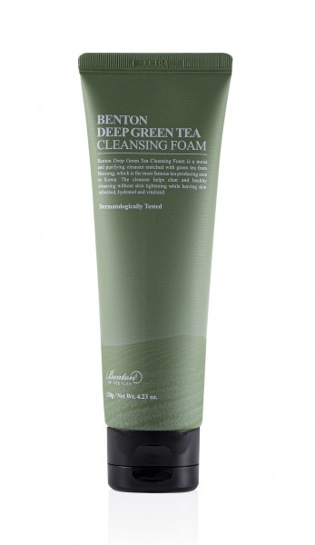 BENTON Deep Green Tea Cleansing Foam