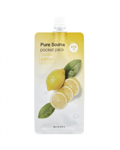 MISSHA Pure Source Pocket Pack (Lemon)