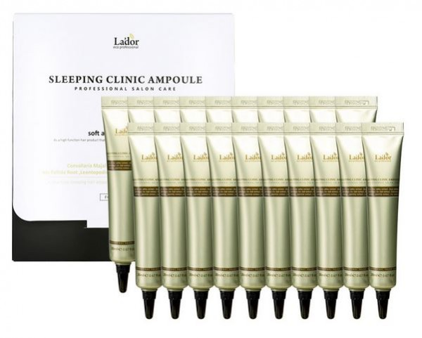 LADOR Snail Sleeping Hair Ampoule 20x20ml