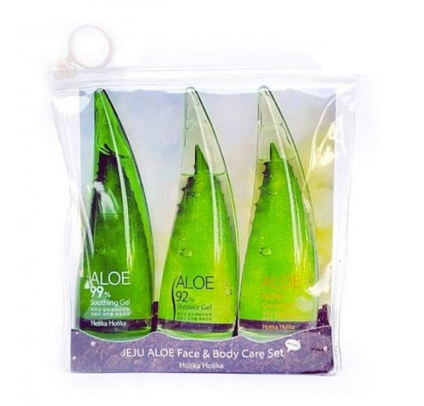 Holika Holika Jeju Aloe Face and Body Care Set