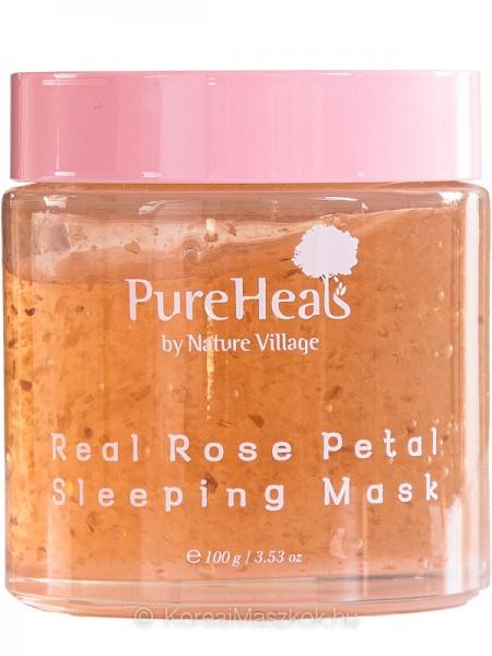 Pureheals Real Rose Petal Sleeping Mask