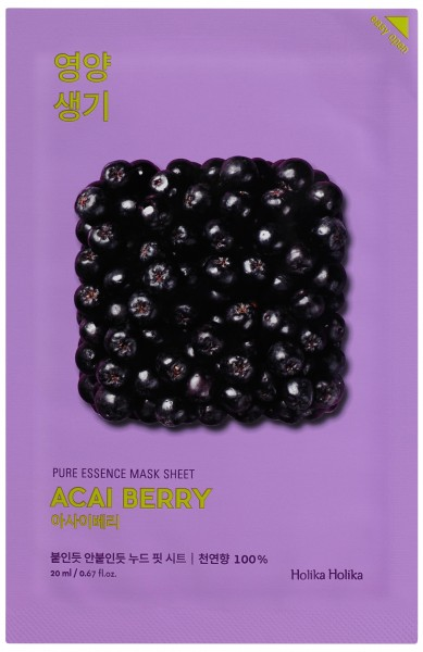 HOLIKA HOLIKA Pure Essence Mask Sheet - Acaiberry