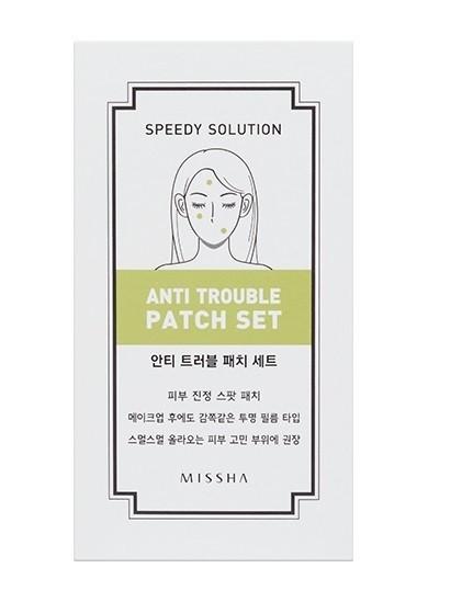 MISSHA Speedy Solution Anti-Trouble Patch Set (8 Blatt)