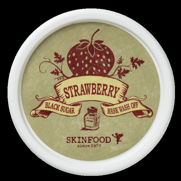 Skinfood Black Sugar Strawberry Mask Wash Off Maske