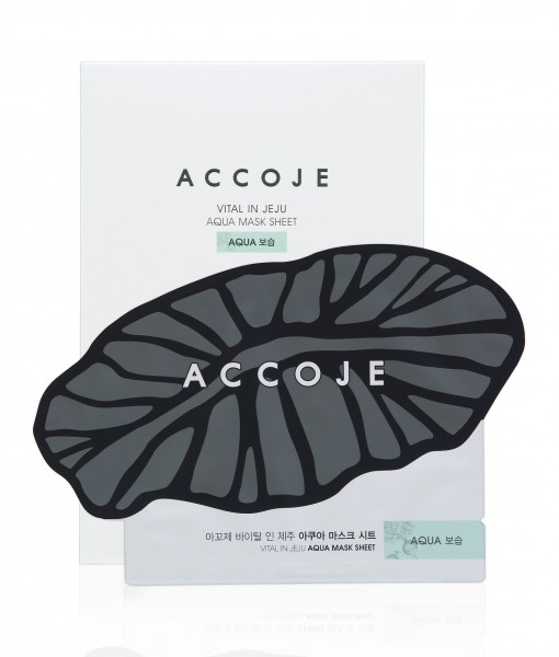 ACCOJE Vital in Jeju Aqua Sheet Mask