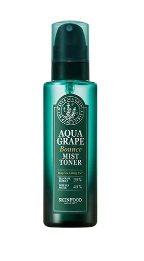 SKINFOOD Aqua Grape Bounce Spray Toner