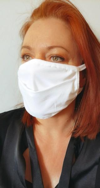 Waschbare und wiederverwendbare Atemschutzmaske aus Baumwolle