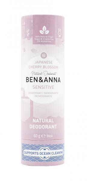 BEN & ANNA Sensitive Papertube Deo Japanese Cherry Blossom